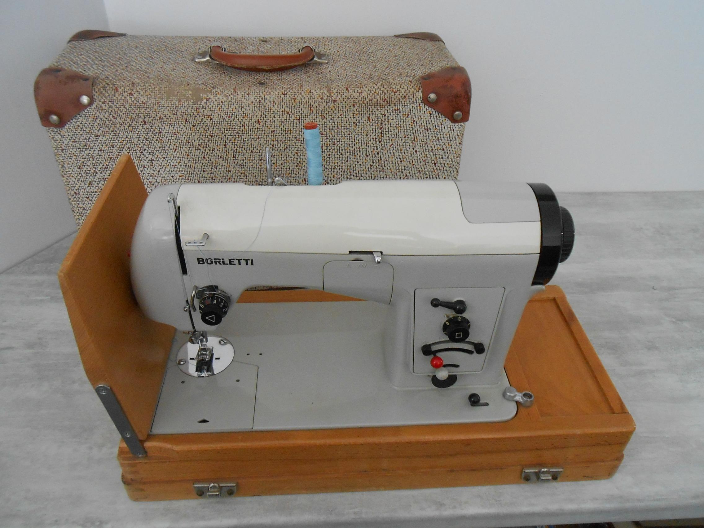 Borletti machine coudre for Machine a coudre omega