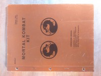 Mortal kombat kit manual flipper pinball 1992 manuel référence guide diagnostics