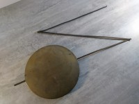 ANCIEN BALANCIER HORLOGE COMTOISE PENDULE, CLOCK PENDULUM