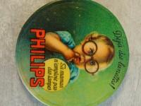 Miroir de poche publicitaire philips - déjà des lunettes
