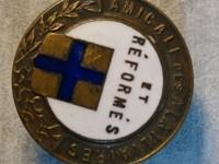 Ancienne insigne boutonnière - Amicale des auxiliaires et réformés - email