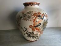 Vase boule asiatique