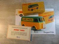 DINKY TOYS FORD lampe mazda 25B Neuf dans sa boîte scéllée - atlas collection 25 B