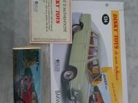 Dinky Toys atlas BMW 1500 ref 534 neuf sous blister