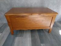 Coffre en bois style rustique