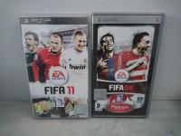 PSP - FIFA 08 et FIFA 09 -  2 jeux vidéo sony UMD