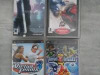 PSP - lot jeux vidéo - crisis core - FFVII - inviZimals