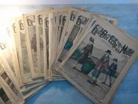 Lot de journaux  LE PETIT ECHO DE LA MODE illustré années 1918 1919 1920