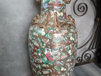 Grand vase asiatique