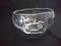 Vase coupe en cristal de vannes