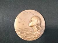Médaille bronze INTER AERA CARITAS - graveur C COCHET IPSA