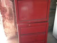 Meuble d'atelier servante à roulettes tiroirs