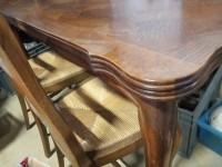 Table à l'italienne et 5 chaises