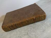 Livre ancien Confessions de Saint Augustin 1716