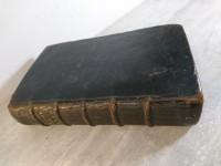 Livre ancien - Pseaumes de David avec de courtes notes