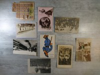 Petit lot cp - carte postales photo militaria 14 18 et carte alimentation