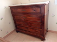 Commode ancienne dessus marbre