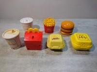 Rare série transformers happy meal goodies macdo