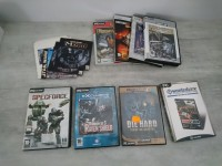 Lot de jeux vidéos PC - die hard starwars prince of persia call of duty