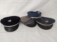 Lot 4 casquettes la poste -  PTT