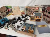 Lot modélisme ferroviaire revues rails et maquettes