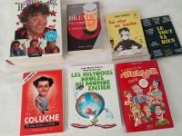 Lot de livres humour - blagues rire - brèves de comptoir