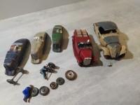 Lot les jouets citroen plâtre et farine + pompier indefini