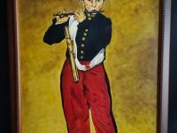 Tableau reproduction le fifre Édouard Manet. Joueur de flûte.
