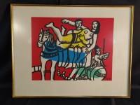 Lithographie Fernand Léger
