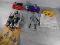 1993 Série complète Batman Catwoman Joker et Robin en Sachet happy meal